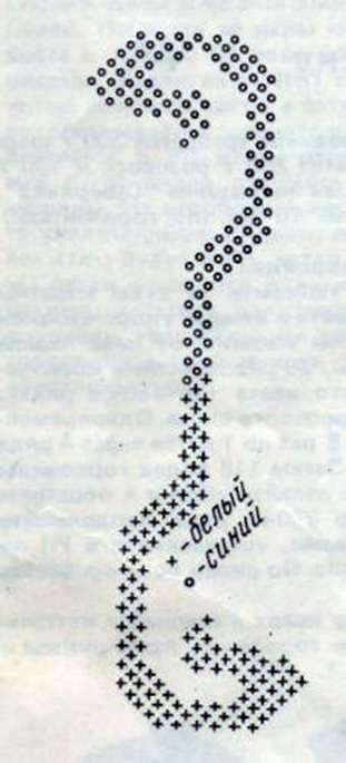Джемпер с асимметричным рисунком