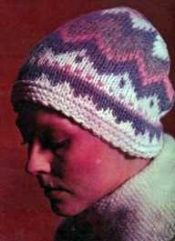 Вязаная шапочка (разм. 56)