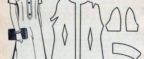Особенности обработки изделий с рукавами покроя полуреглан
