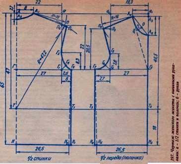 Женский жакет с вшивными рукавами, схема вязания спицами