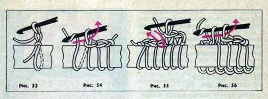 Узоры для вязания коротким крючком