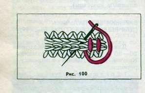 Вязание варежек крючком
