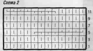Вязаное болеро с планками из кос размеры: 36 (38/40) 42