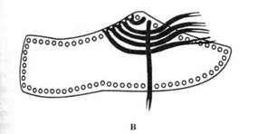 Тапки закрытого типа с макраме Атаманочки