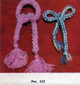 Как из спиц связать шнурок для пинеток