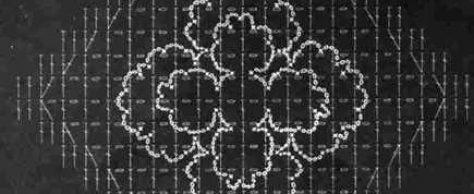 Вязание крючком шали