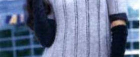 Вязаное платье с ажурными дорожками размеры: 38/40 (42/44) 46/48