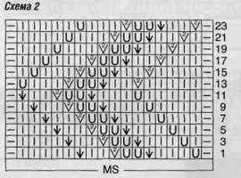 Вязаный жилет с меховым воротником и шапка размеры: 32/34 (38/40) 44/46