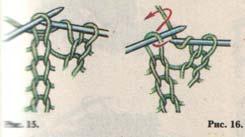 Как вяжется спицами английская резинка