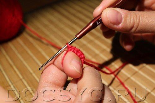 как сделать кольцо амигурами
