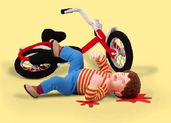 вязание для психов - жуткие детские игрушки