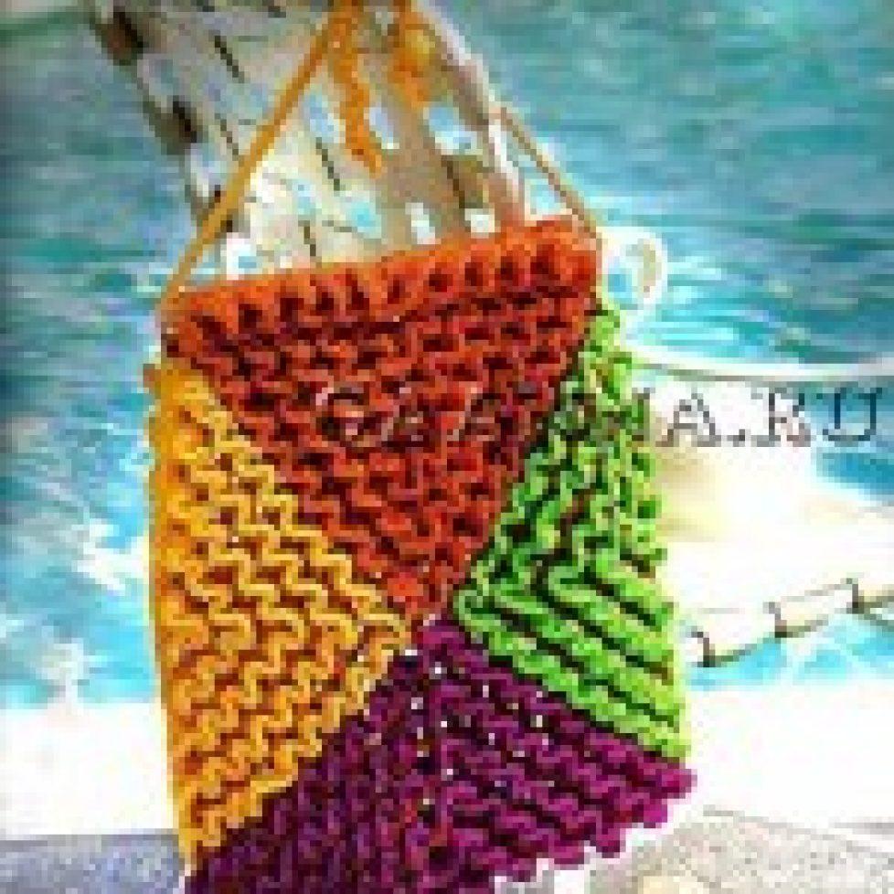 Вязание объемных цветов по филейной сетке