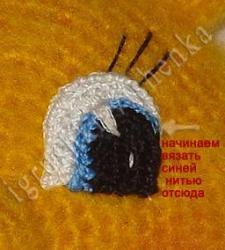 вязанное солнышко