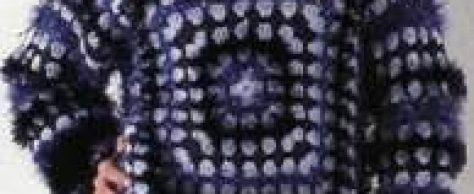 Пушистый пуловер размер: 38/40