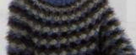 Пуловер с узором «ракушки» размеры: 38-42