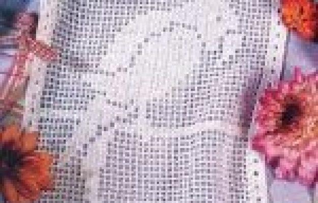 Птичка моя… (филейное вязание), продолжение