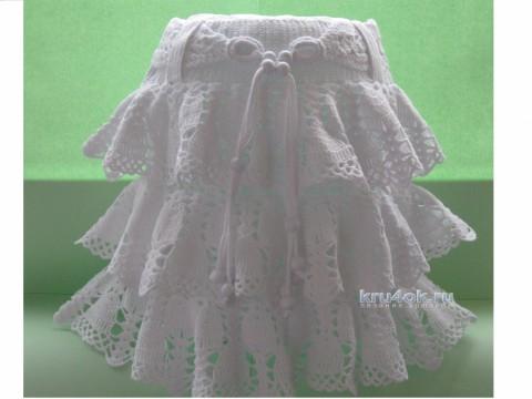 Детская юбка Ажурный колокольчик