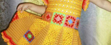 Платье – сарафан для девочки
