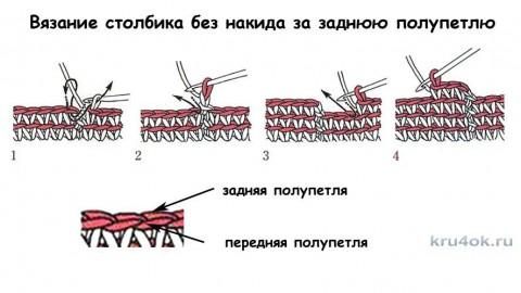 Юбка для девочки. Работа Екатерины Родиной вязание и схемы вязания