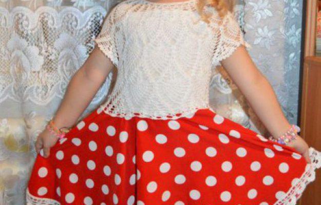 Платье для девочки. Работа Ирины Савельевой