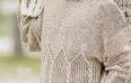 Мужской светло-серый пуловер