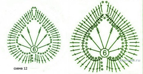 Болеро для девочки крючком. Работа Людмилы Максютовой вязание и схемы вязания