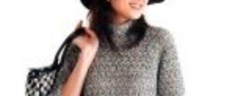 Джемпер с укороченными рукавами