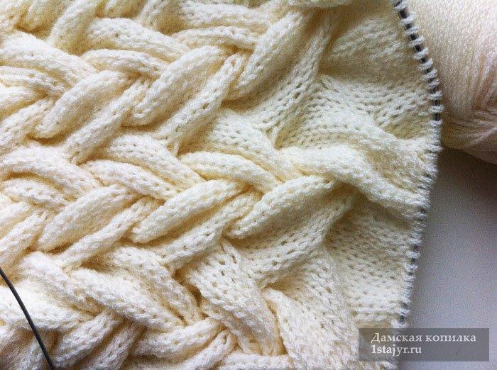 снуд,спицами,вязание,для женщин,описание,пошагово,с фото