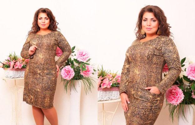 Осенние платья больших размеров — несколько слов о трендах этой осени
