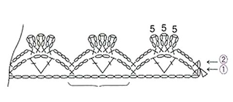 Комплект ДжоДжо от Shayta вязание и схемы вязания