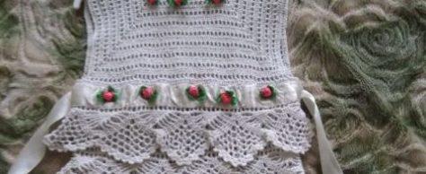 Платье Белое облачко для девочки 1,5-2 лет