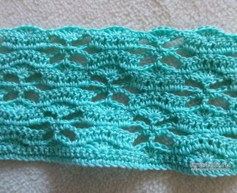 Жакет для девочки крючком. Работа Александры Карвелис вязание и схемы вязания