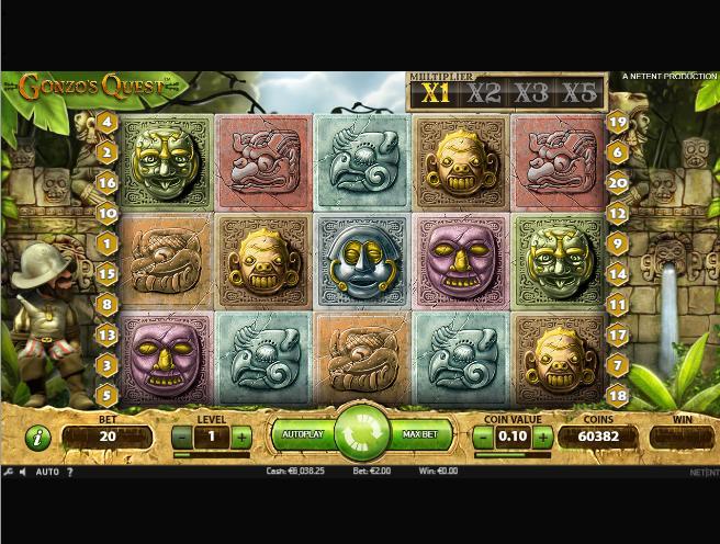 Слот Гонзо Квест - описание игрового автомата